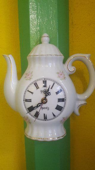 Reloj cocina cafetera