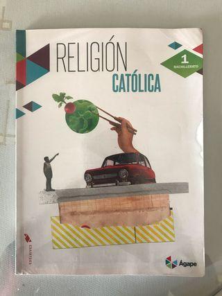 Libro de religión Edetorial Edelvives bachillerato