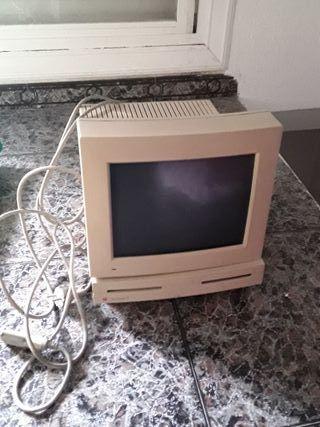 """Macintosh LC y monitor monocromo 12"""" Apple"""