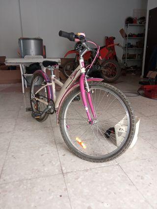 Bicicleta niña de 24 pulgadas