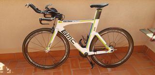 Bici tri BMC TMO2 ruedas Dura-ace