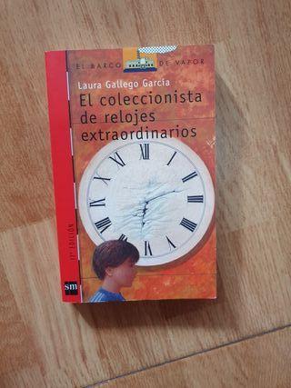 libro El coleccionista de relojes extraordinarios