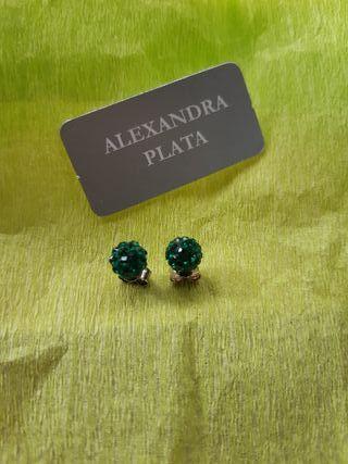Pendientes ALEXANDRA PLATA