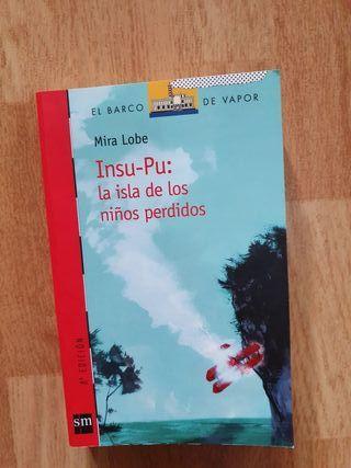 libro Insu pu: la isla de los niños perdidos