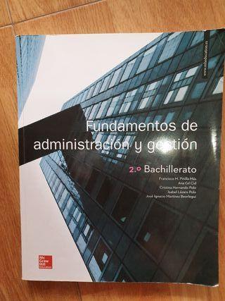 Fundamentos de administración y gestión 2° bach