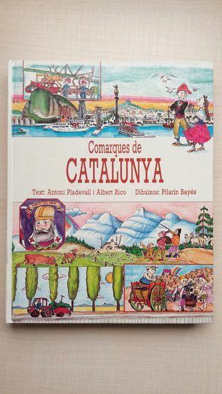 Libro Comarques de Catalunya. Antoni Pladevall