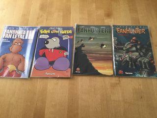 Colección cómics Fanhunter