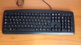 teclado de ordenador PC conexión PS2