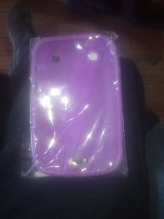 funda silicona cover blackberry bold