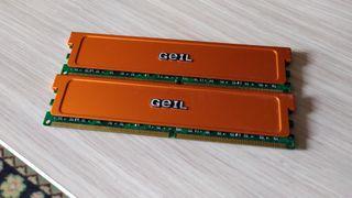 4GB (2 x 2GB) DDR2 800 PC2-6400