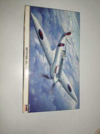 Maqueta avión Spitfire Mk. VII