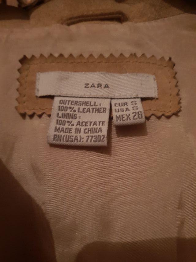 Chaqueta cuero T. S Zara NUEVA