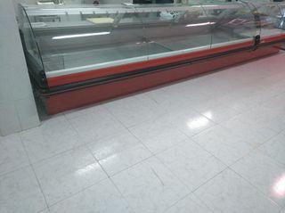 mostrador frigorífico abatible de carniceria