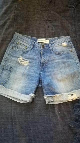 Shorts / bermudas de jean para mujer de Zara