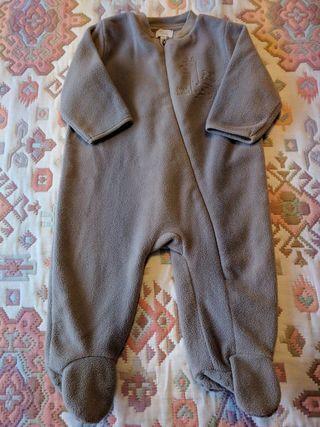 Pijama buzo polar bebé 6 meses