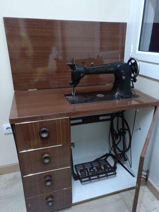 Máquina de coser piel