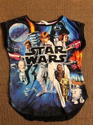 Camiseta star wars - HM 8-10 años