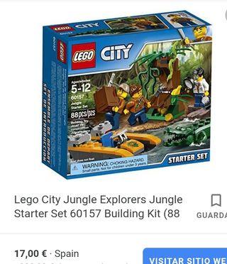 Lego 60157 Exploradores de la jungla