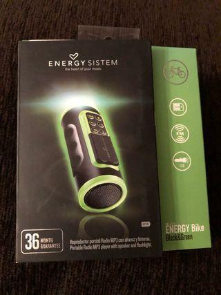 Energy Sistem MP3 Bike Music Box + Linterna