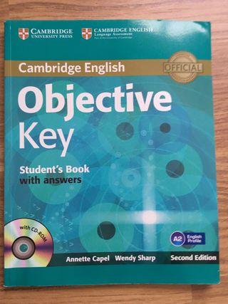 Libro inglés Objetive Key Nivel A2