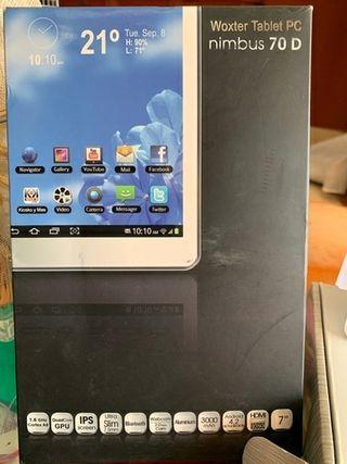 """Woxter Nimbus 70 D - Tablet de 7"""""""
