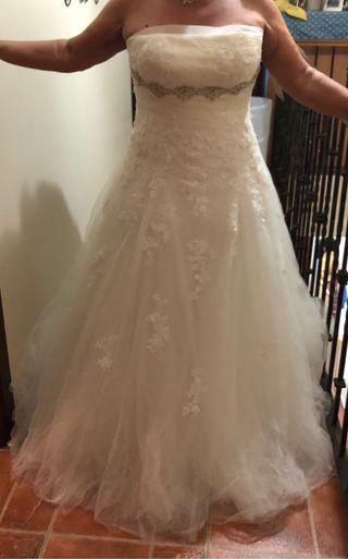 Vendo traje de novia Pronovias