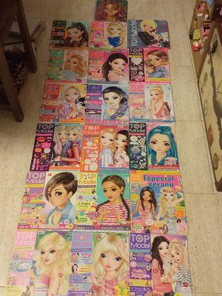 Top Model. Cuaderno de dibujo y 17 revistas