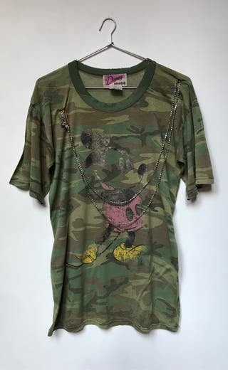 Camiseta destroyer Mickey Mouse.