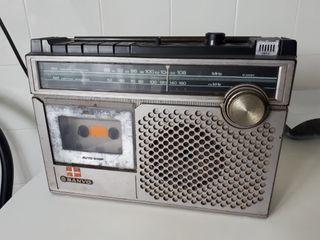 radio cassette vintaje
