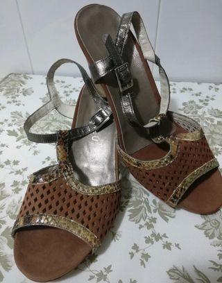 Zapatos de piel hechos en España