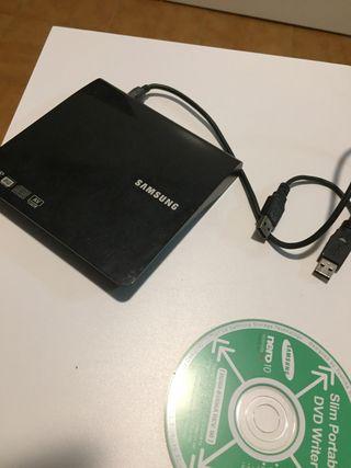 Disquetera externa dvd grabadora