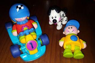 Lote juguetes bebe Tolo