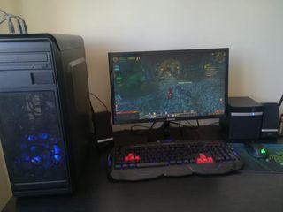 PC Gaming con pantalla