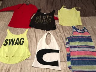 Camisetas tops