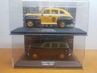 Maquetas Taxis