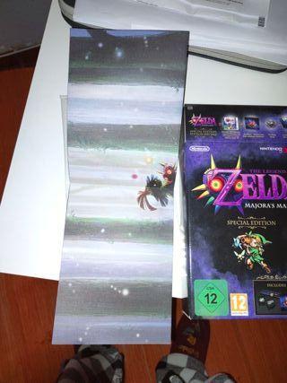 caja Zelda majorask mask 3d