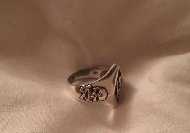 men's silver ring size Y