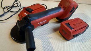 Hilti Ag 125-A22 amoladora/radial batería