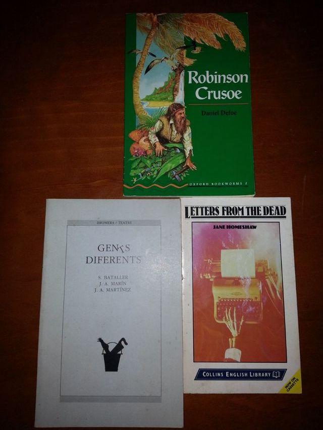 libros en inglés aprender inglés escuela instituto