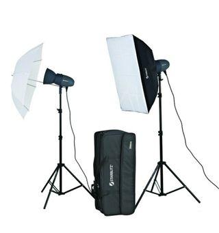 kit flash estudio Starblitz NUEVOS Model Abeja 200