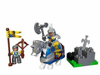 LEGO Duplo 4775: Caballero Blanco