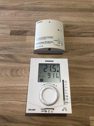 Termostato Digital inalámbrico - SIEMENS RDJ10RF