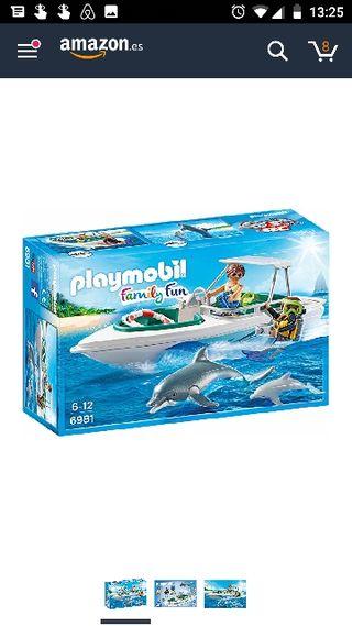 NUEVO Playmobil Crucero, buceo y delfines