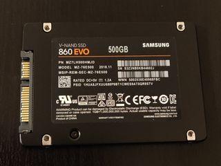 Samsung SSD 860 EVO de 500 Gb