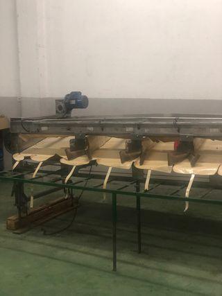 Máquina para calibrar cerezas