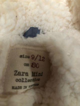 Buzo de bebé de Zara