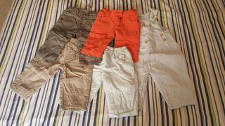 Lote pantalones bebé 6 meses