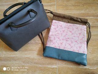 Bolso y mochila