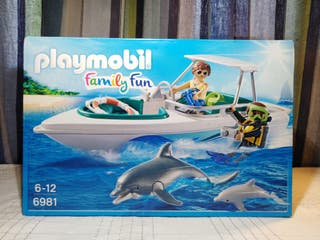 Nuevo Playmobil Lancha buceo