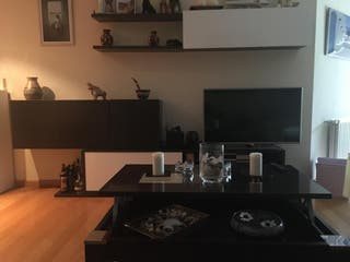 Mueble de salón y mesa centro